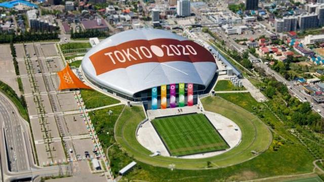 Tóquio celebra contagem de cinco anos para Olimpíada