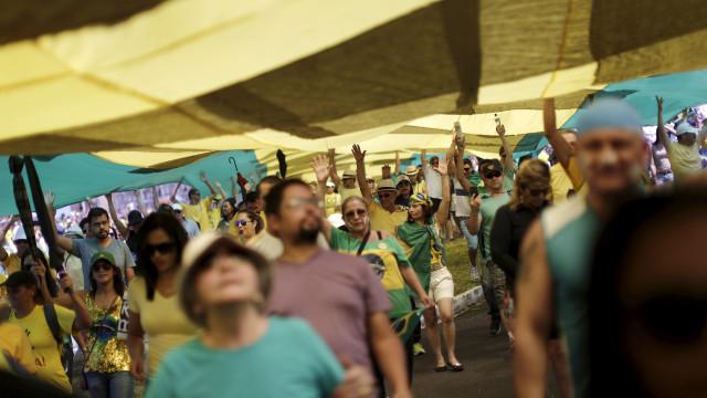 Brasil tem manifestações em 13 Estados e no DF