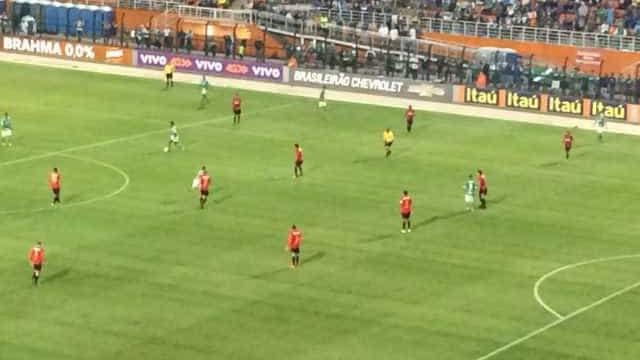 Sport encerra jejum, ultrapassa o Palmeiras e encosta no G4