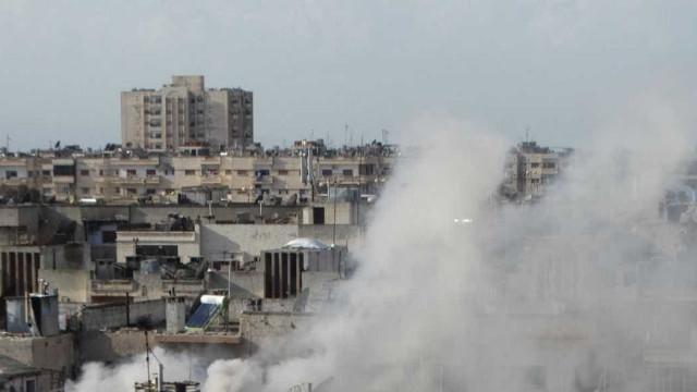 """Rússia bombardeia alvos sírios  com informações """"da oposição"""""""