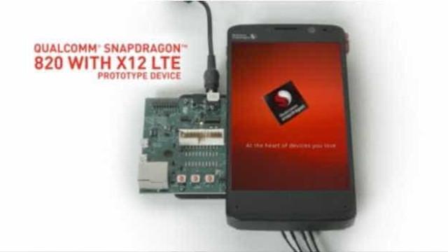 Smartphones com chip Snapdragon 820 chegam no 1º semestre de 2016