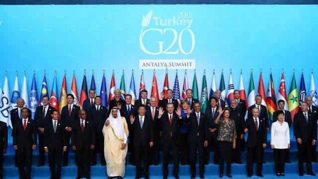 Na Turquia, líderes mundiais  concordam em lutar contra terrorismo