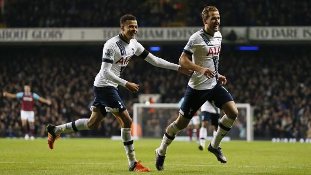 Tottenham derrota Watford e sobe para 2º; Liverpool cede empate