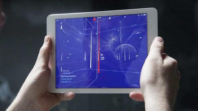 Aplicativo permite ver as ondas de rádio à sua volta