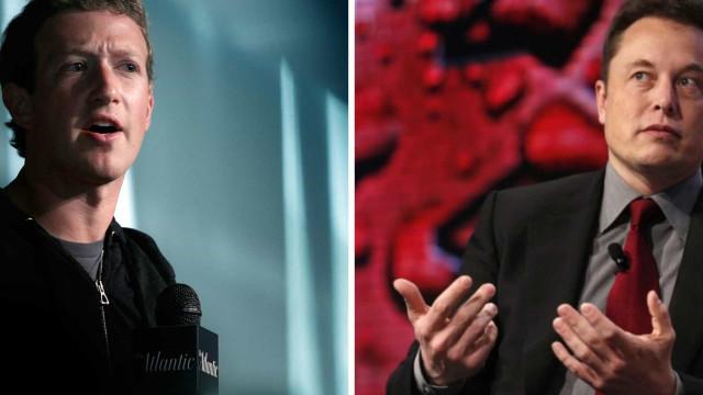 Zuckerberg volta a contrariar Elon Musk em Inteligência Artificial