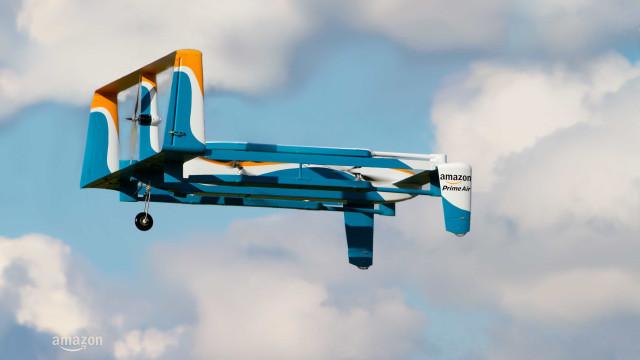 Amazon mais perto de entregar encomendas com drones