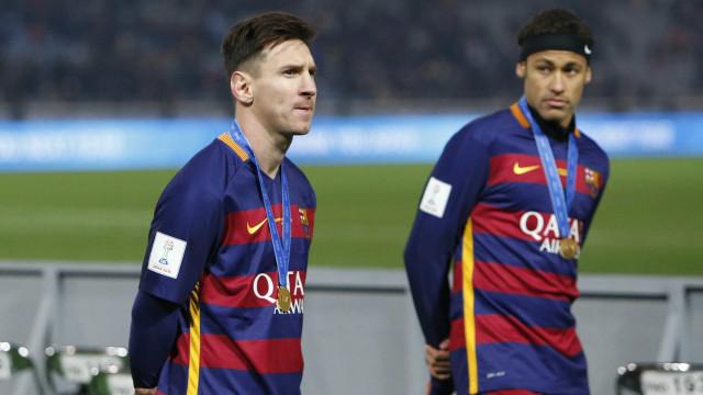Messi vê Neymar como seu sucessor: 'Pode chegar onde quiser'