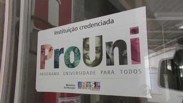 MEC suspende inscrições do ProUni por tempo indeterminado