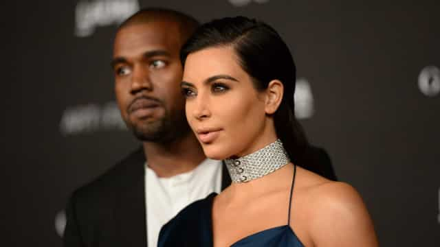 Kim Kardashian e Kanye West não foram bem recebidos por novos vizinhos