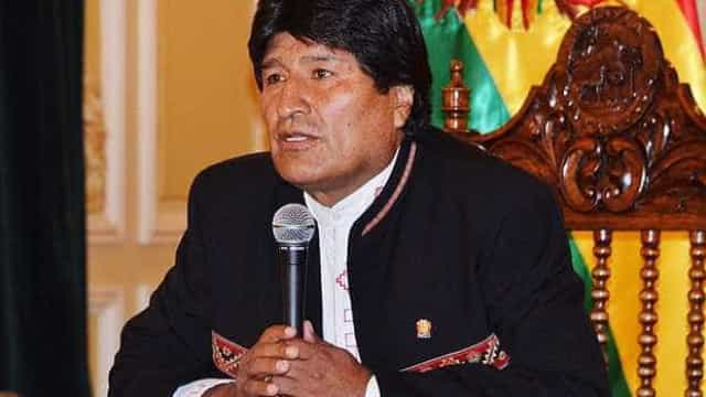 Presidente boliviano descobre filho que julgava estar morto