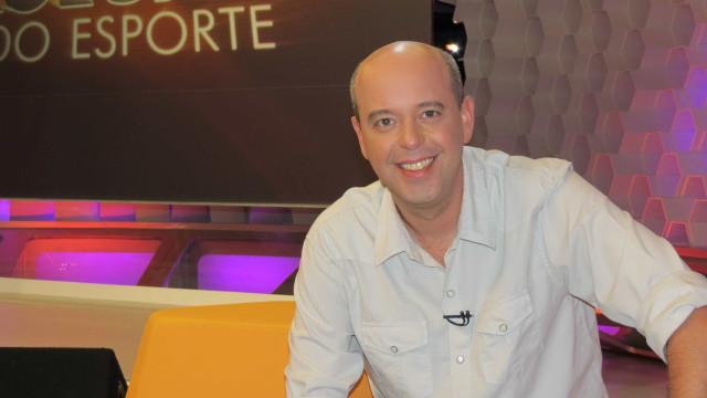 Alex Escobar substituirá Tadeu Schmidt nos Gols do Fantástico
