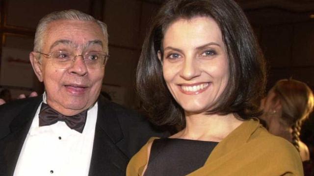 Malga Di Paula diz que Chico Anysio esteve com ela na internação por Covid