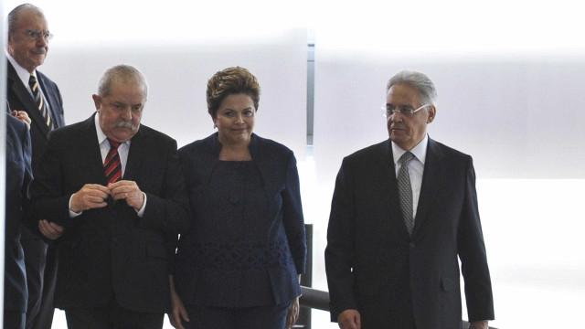 Dilma e FHC não têm cadeiras reservadas na posse de Bolsonaro