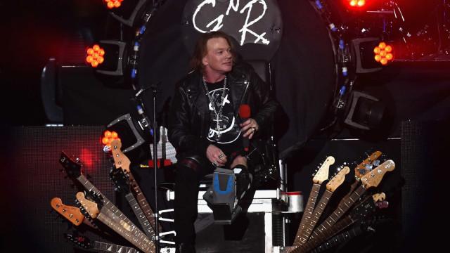 Axl Rose critica Trump após uso de música de Guns N' Roses em campanha