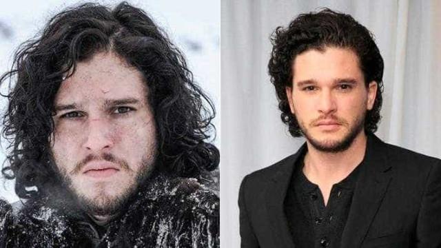 Veja como são os atores de Game of Thrones na vida real