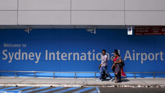 Casal de SC é preso no aeroporto de Sydney com cocaína na mala