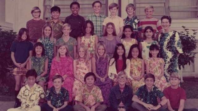 Obama publica foto de sua turma de 5ª série em homenagem a professora
