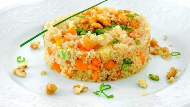 Fome? Fique com a receita de risotto  de quinoa e abóbora
