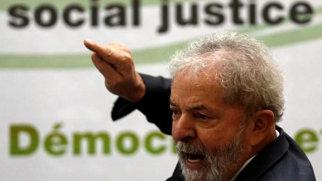 Espionagem do governo contra Lula  é denunciada pelo PT