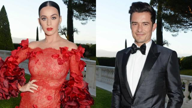 Marcada data para o casamento de Katy Perry e Orlando Bloom