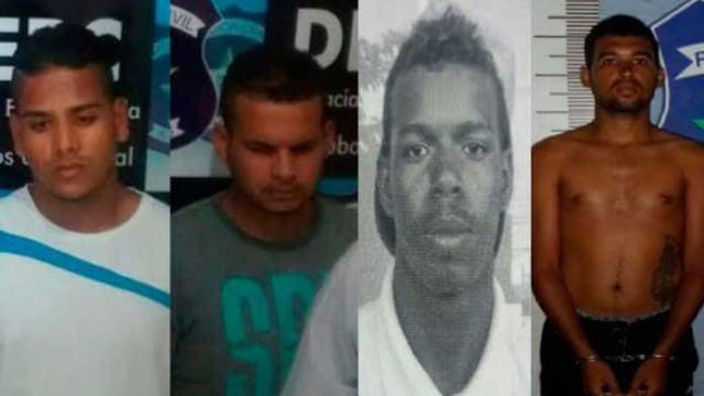Polícia prende quadrilha especializada em roubos a casas em Maceió
