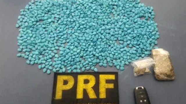 PRF apreende maconha, cocaína e comprimidos de ecstasy na Bahia