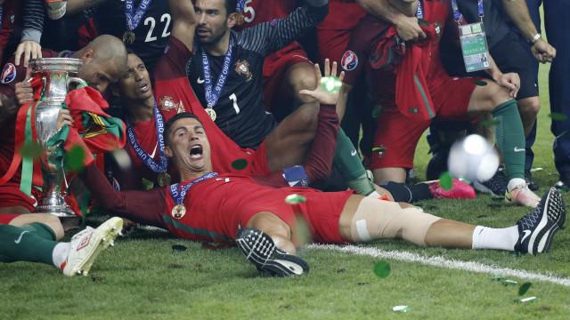 Portugal leva título da Euro com  apenas uma vitória no tempo normal