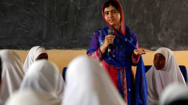 Malala completa 19 anos e faz discurso em campo de refugiados
