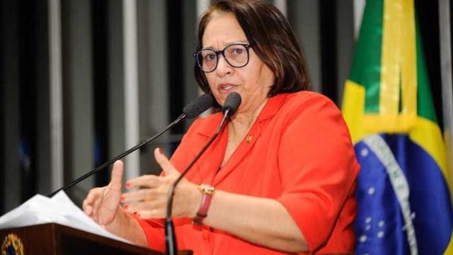 Fátima Bezerra (PT) toma posse como governadora do RN