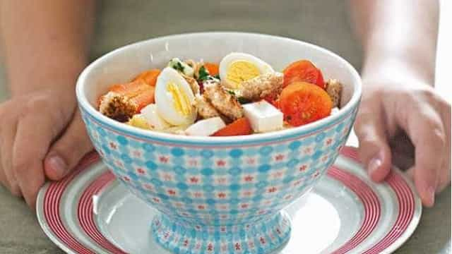 Alimentação na Primavera: salada colorida