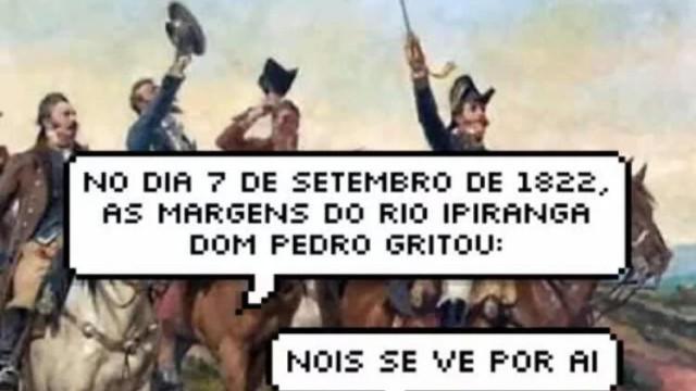 Sete de Setembro agita a web: confira os memes do Dia da Independência