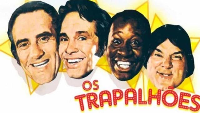Coletânea de 'Os Trapalhões' é disponibilizada em plataforma de streaming gratuita