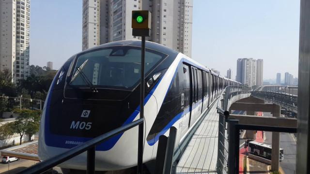 CCR conquista outra linha de metrô em SP com o monotrilho da linha 15