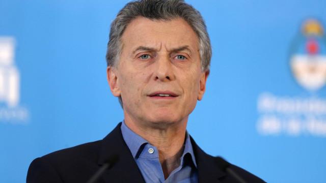 Macri critica chavista e recrimina  chanceler da Venezuela