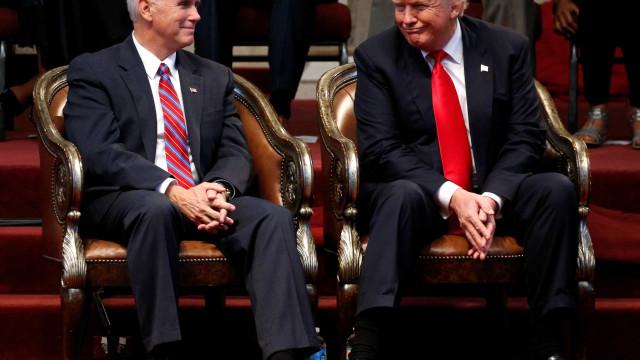 Mike Pence não estará presente na cerimônia de despedida de Trump