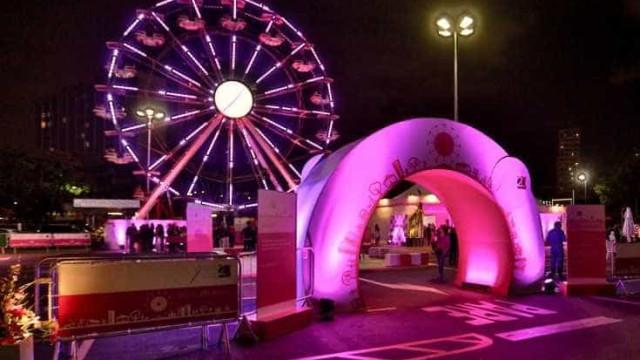 Instituto faz campanha contra o câncer de mama no Parque Ibirapuera