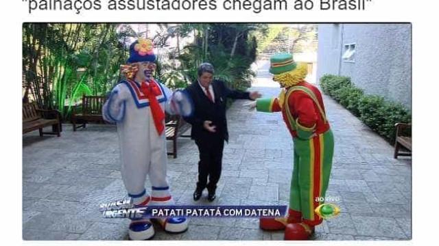 Onda de palhaços assustadores chega ao Brasil e gera memes