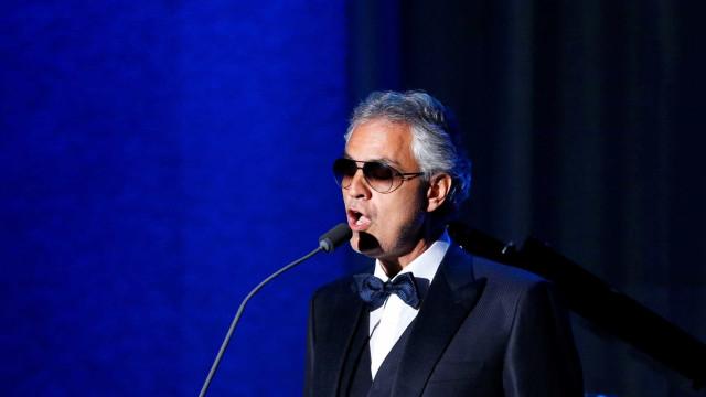 Após 14 anos, Andrea Bocelli anuncia novo álbum