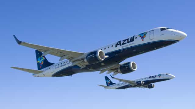 Azul: demanda por voos em julho sobe 40,7% e cai 77,6% ante 2019