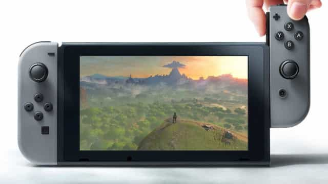 Nintendo prepara versão portátil do Switch