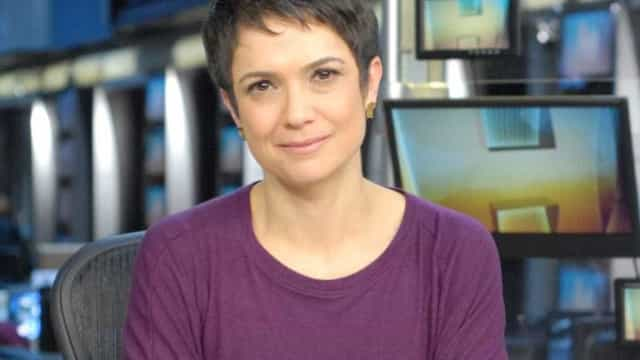 Sandra Annenberg chora na despedida do Jornal Hoje