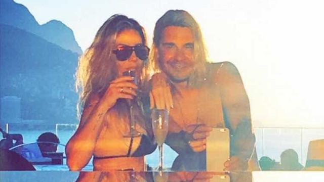 Danielle Winits e André Gonçalves comemoram 1 mês de casados
