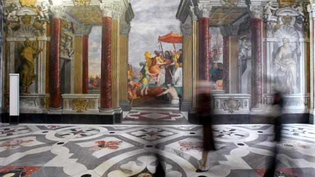Na Itália, museus promovem festas de Ano Novo