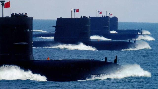 China elabora tecnologia secreta de proteção ativa de submarinos