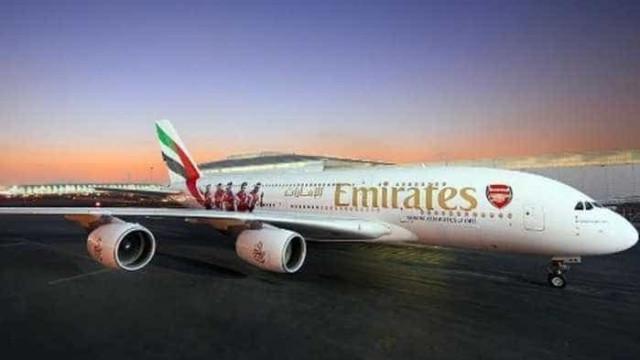 Arsenal ganha avião de US$ 400 mi para transporte  na Liga dos Campeões