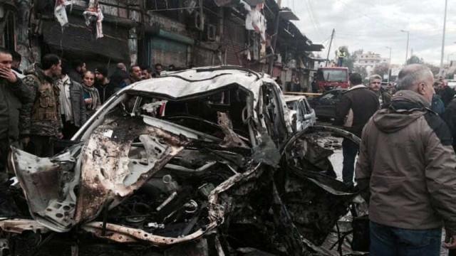 Explosão de carro-bomba  na Síria deixa mortos perto da fronteira