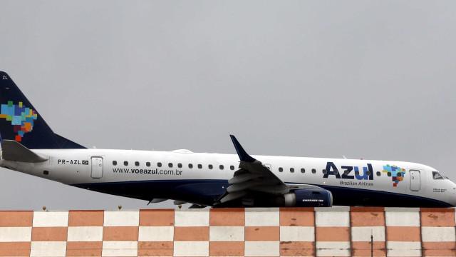 Vídeo mostra avião da Azul pousando em Campinas após falhas