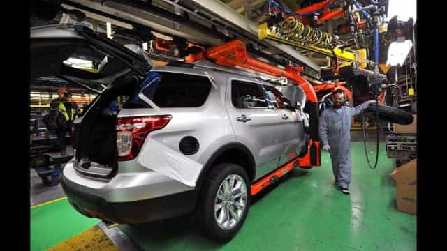 Produção de veículos cresce 25,2% em 2017