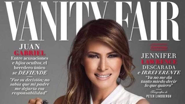 Vanity Fair do México causa polêmica  por Melania Trump em capa