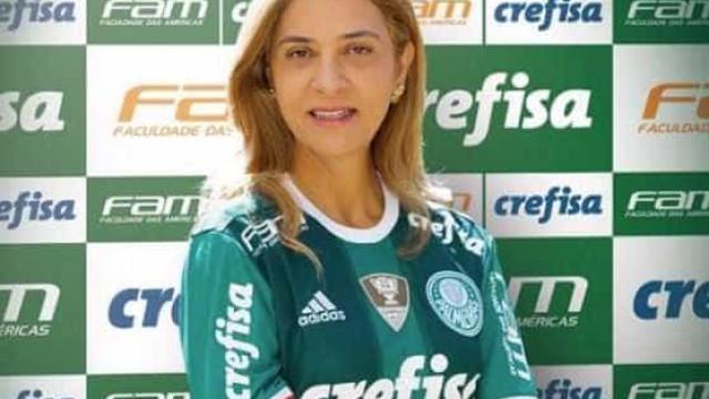 Leila Pereira será candidata única no Palmeiras; oposição evita confronto